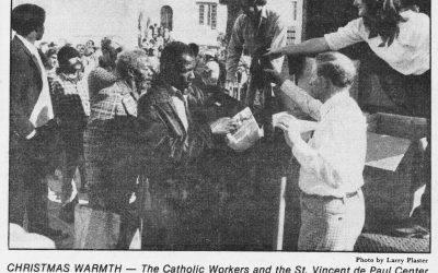 Demands at St. Vincent de Paul Grow