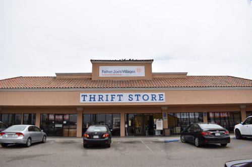 Imperial Beach thrift store location.