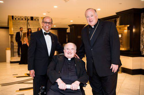 gala attendee and father joe