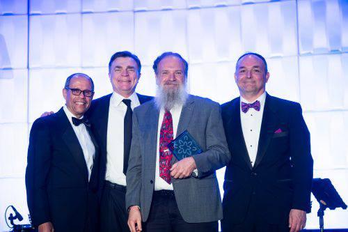 gala attendees award