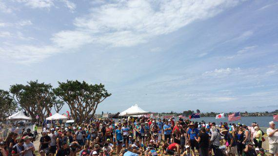 San Diego International Triathlon Crowd