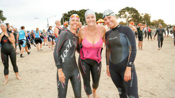 San Diego International Triathlon Women racers
