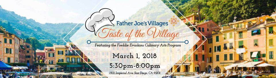 taste of the village 2018 header