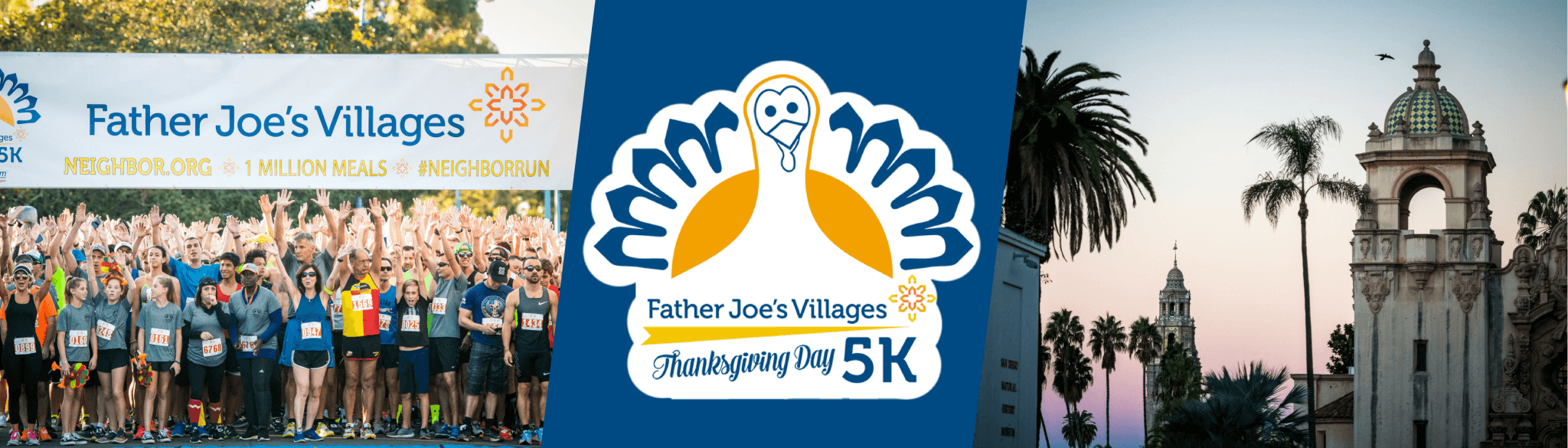 Father Joe's Village Thanksgiving Day 5K header