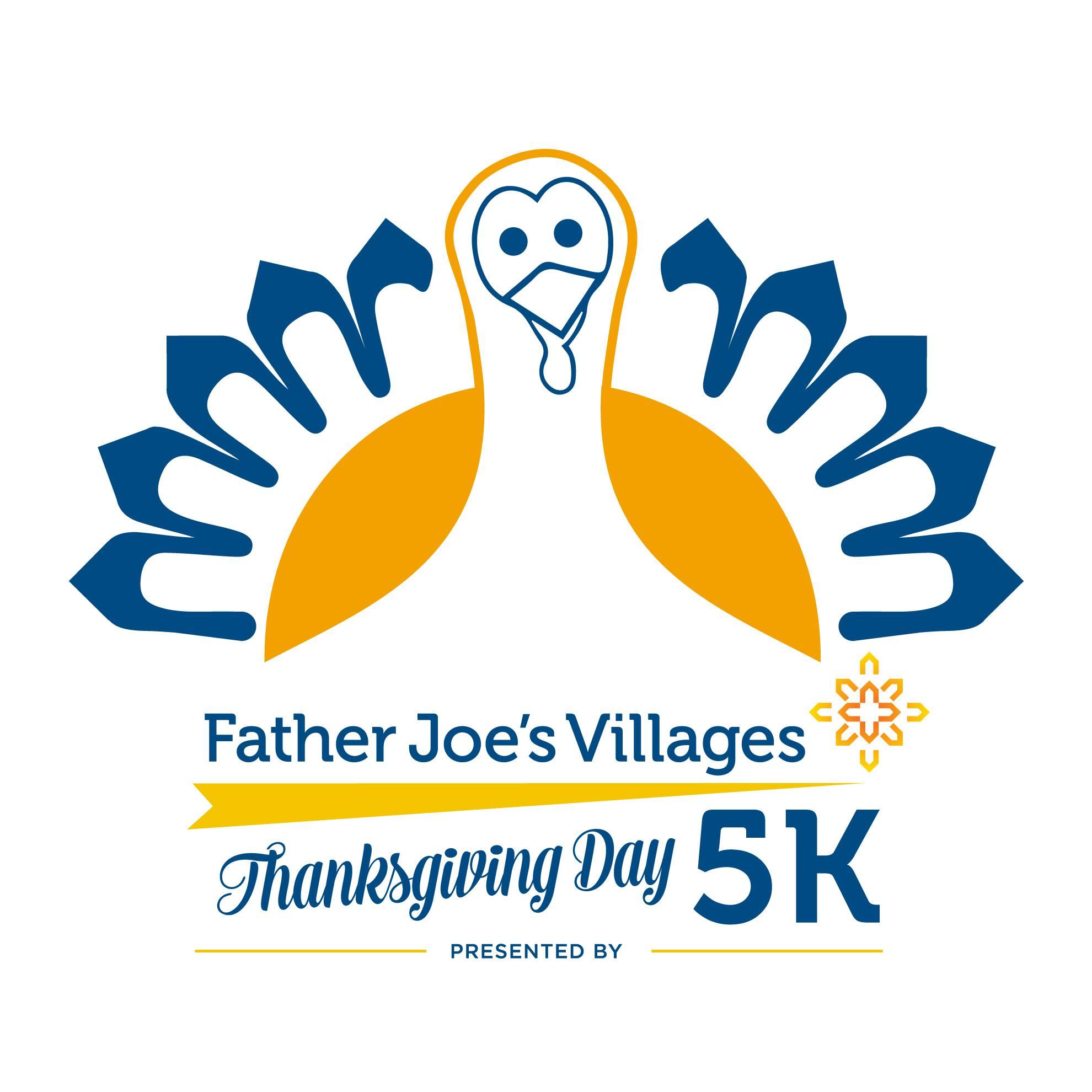 November 26: 14th Annual Father Joe's Villages Thanksgiving Day 5K Run & Walk