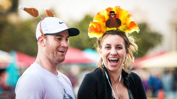 Father Joes Villages thanksgiving 5k turkey hats