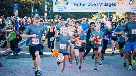 Father Joes 5k Thanksgiving