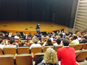 Toussaint Academy Graduate Speaks at Francis Parker Elementary