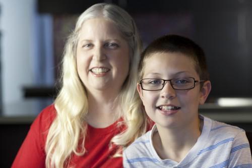 Josh and Mom