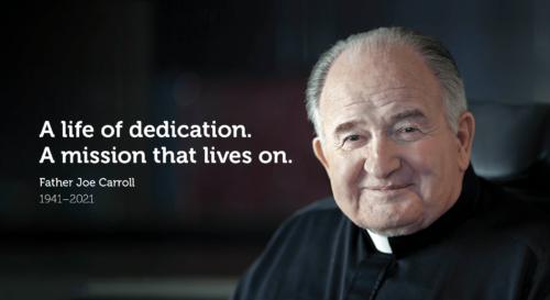Father Joe Carroll Obituary - A life of dedication. A mission that lives on.