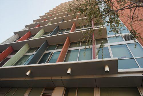 Outside Transitional Housing