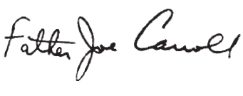 Father Joe signature