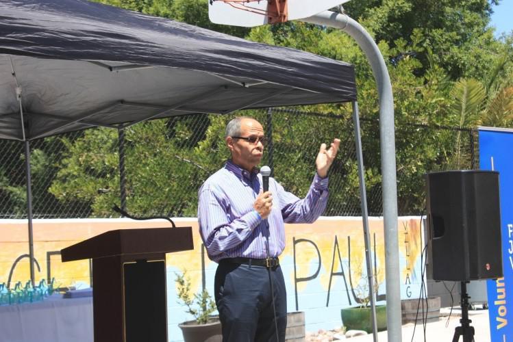 Deacon Jim Vargas speaks about the importance of volunteers.