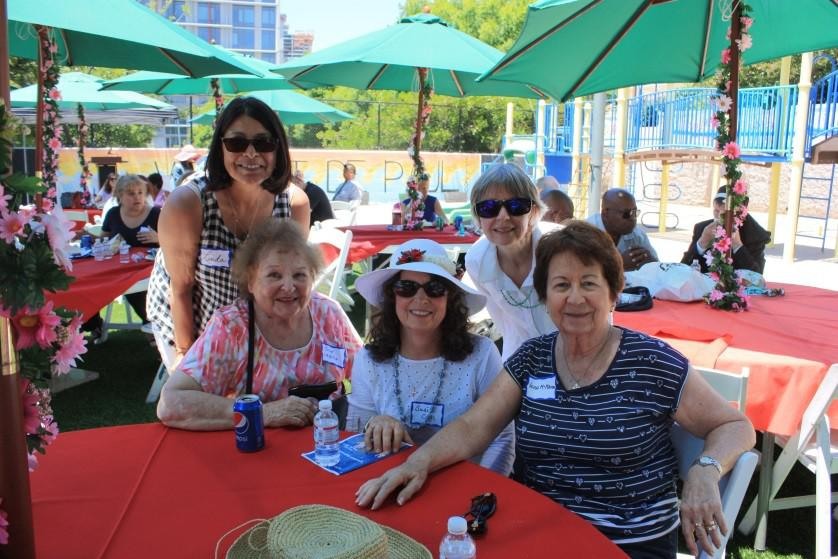 Ladies' Guild volunteers attend Volunteer Appreciation event.