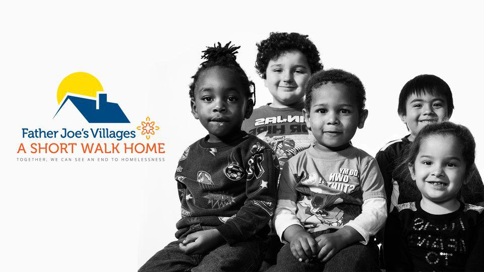 Support children and families who are homeless through A Short Walk Home.