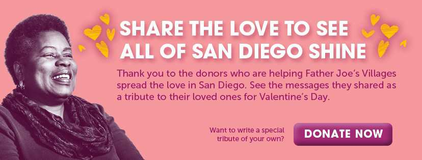 Share the Love to See All Of San Diego Shine