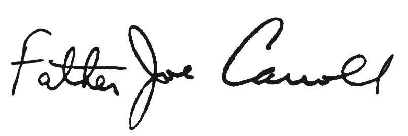 Father Joe Signature
