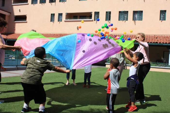 Learning Games in Therapeutic Childcare
