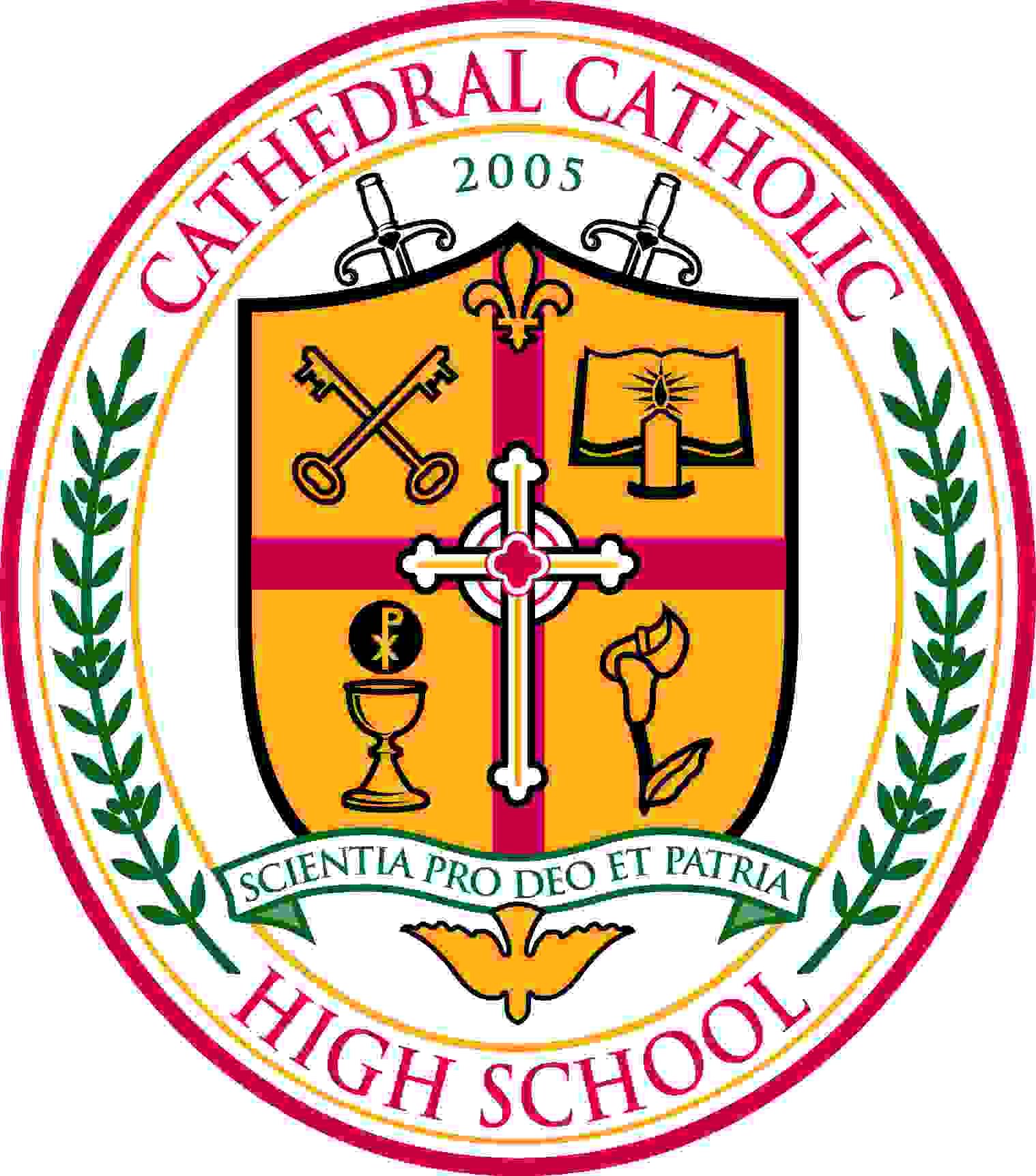 cathedral catholic crest