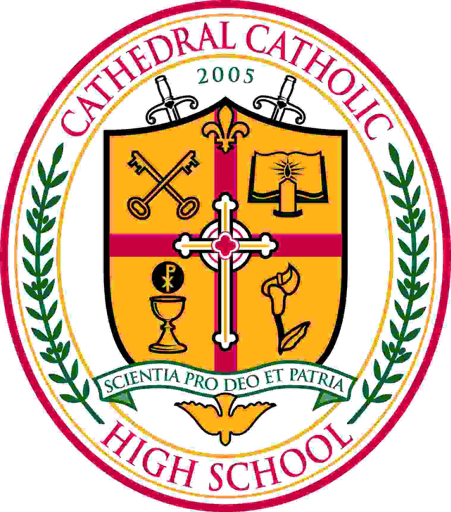 cathedral catholic crest