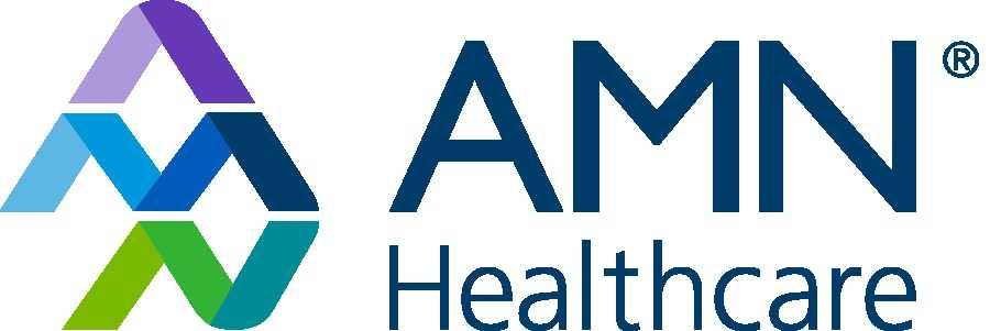 AMN Healthcare logo  | San Diego turkey trot thanksgiving 5K