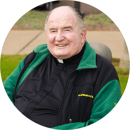 PRESIDENT EMERITUS FATHER JOE CARROLL