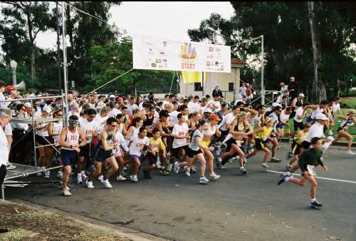 2002 First Annual Thanksgiving Day 5k San Diego