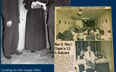 Bishop Charles F. Buddy Dedicates St. Mary's of the Wayside Chapel
