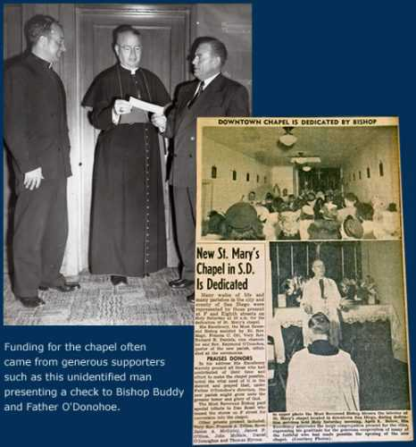The foundation for St Vincent de Paul Village was laid in April 1950