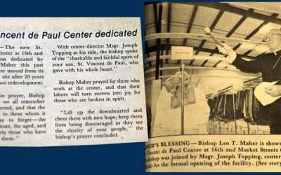 St. Vincent de Paul Center Moves