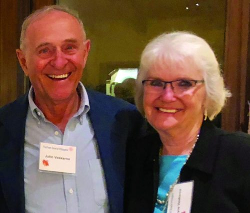 John & Joyce Veskerna smile at a recent event. | Legacy Gift