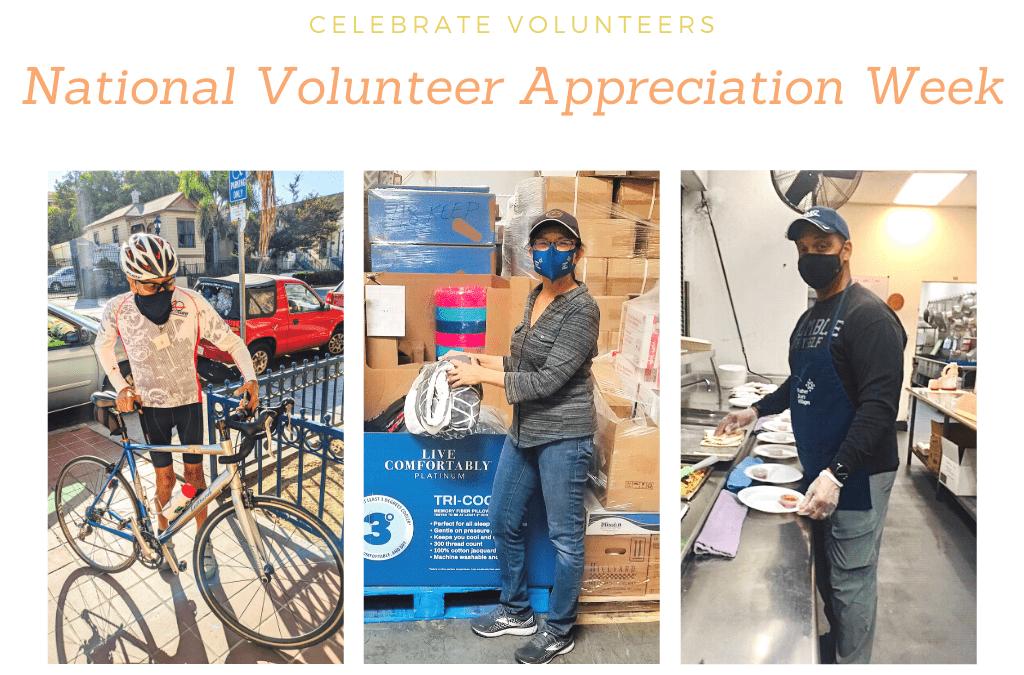 Honoring our Volunteers this National Volunteer Appreciation Week