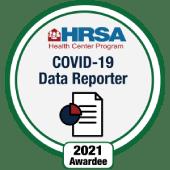 HRSA COVID-19 Data Reporter Award